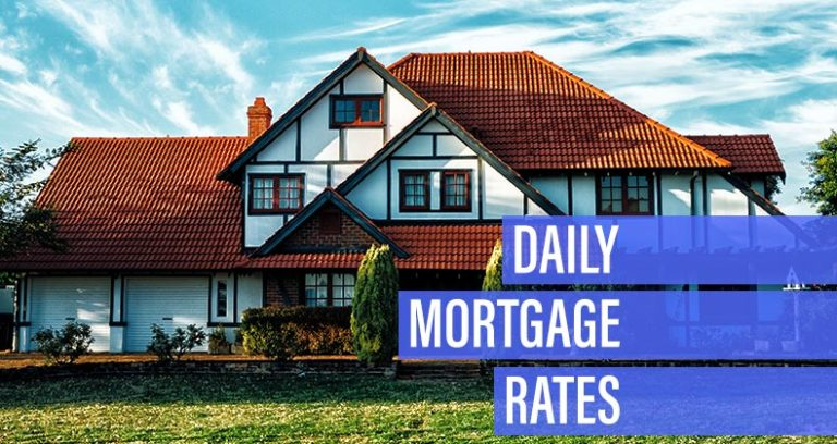 Mortgage rates move higher for Monday